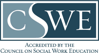 CSWE Accreited by the Council on Social Work Education