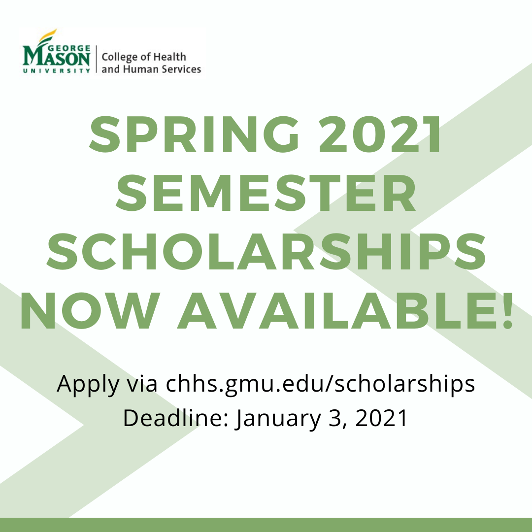 Gmu Calendar Spring 2021 The College of Health and Human Services Announces Spring 2021